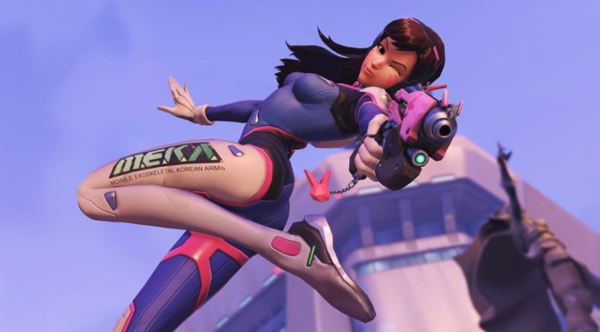 D.VA showing us who's the boss!