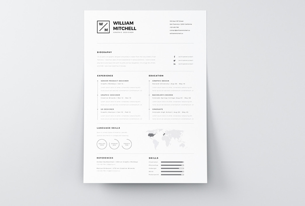 40+ Free Resume Templates 2017 - Professional  100 Free - free resume download templates