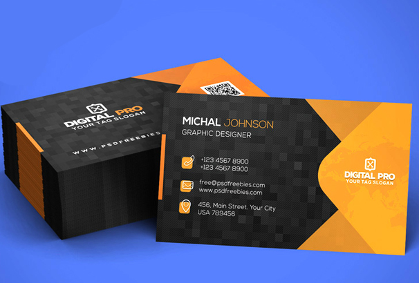 Free Business Card Template PSDs for Photoshop 100 Free Downloads - business card template