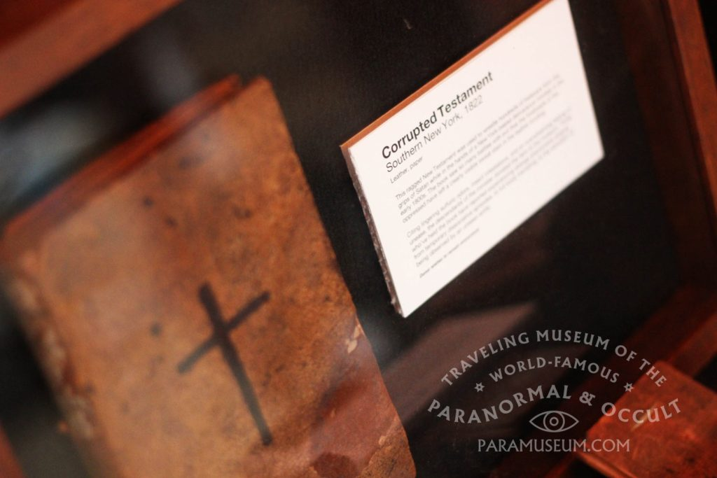 Once used in hundreds of rural exorcisms, the Corrupted Testament retired to the Newkirk collection.