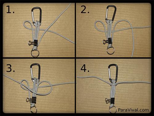 How To Make A Paracord Keychain Paravivalcom
