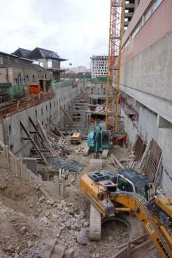Le chantier d'est en ouest @CK