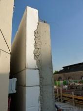 Premiers murs au Nord-Ouest de Parc 17