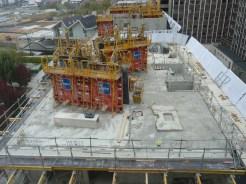 Parc 17, bâtiment C, dalle du 7° étage, 25 octobre 2014
