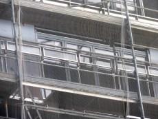Gardes-corps vitrés, bâtiment C, Parc 17