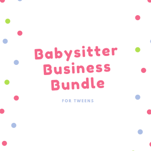 babysitter business bundle
