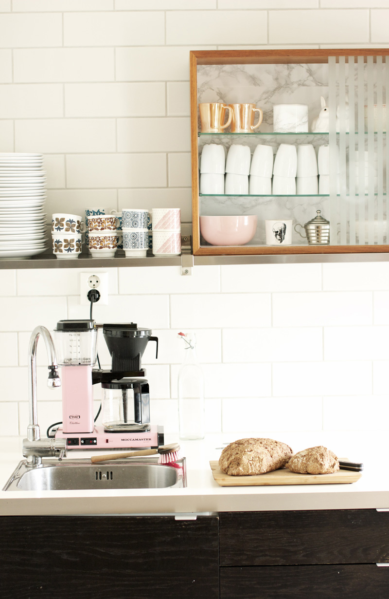 Open Kitchen Shelves Inspiration: Interior Envy // Open Kitchen Shelves