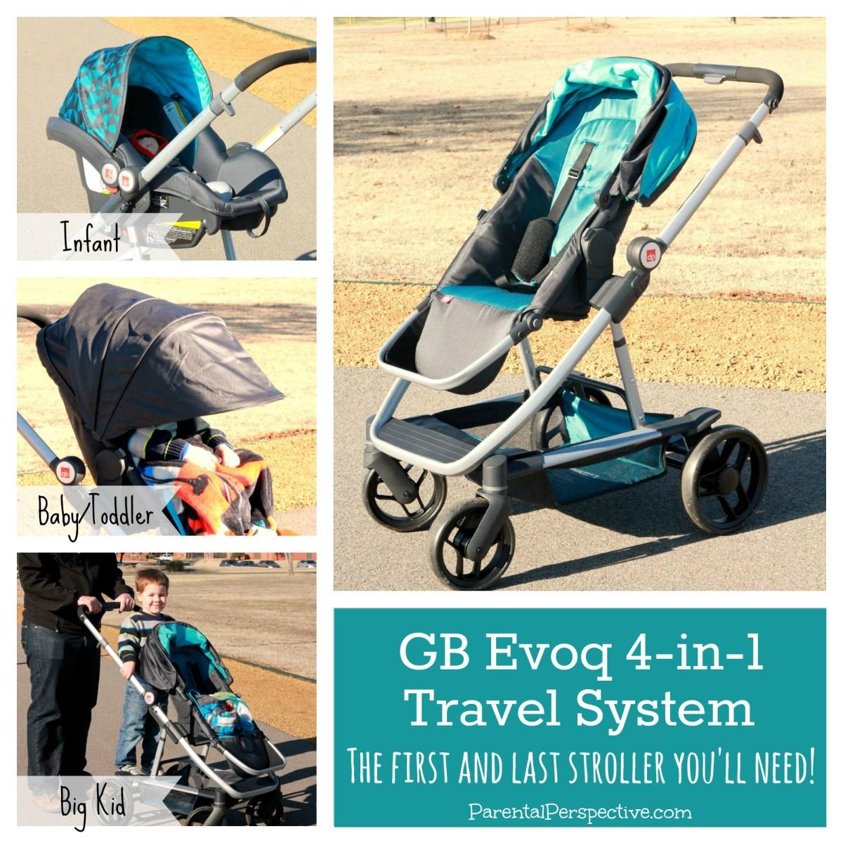 GB Evoq 4-in-1 Travel System