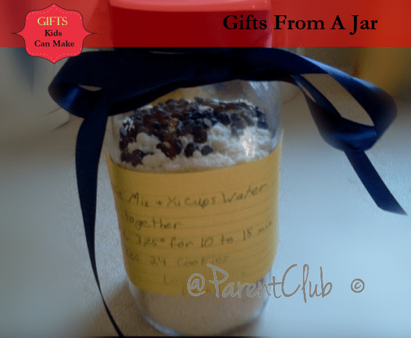 Gifts Kids Can Make - Gifts From A Jar