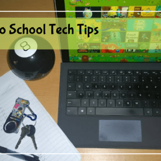 back to school tech tips