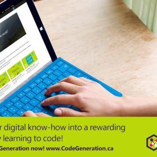 Microsoft Canada #CodeGeneration