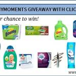 #SaveMommyMinutes Giveaway with Click & Collect and P & G