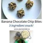 Banana Chocolate Chip Bites
