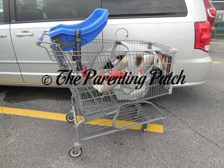 How To Put A Car Seat On A Shopping Cart Never Balance A