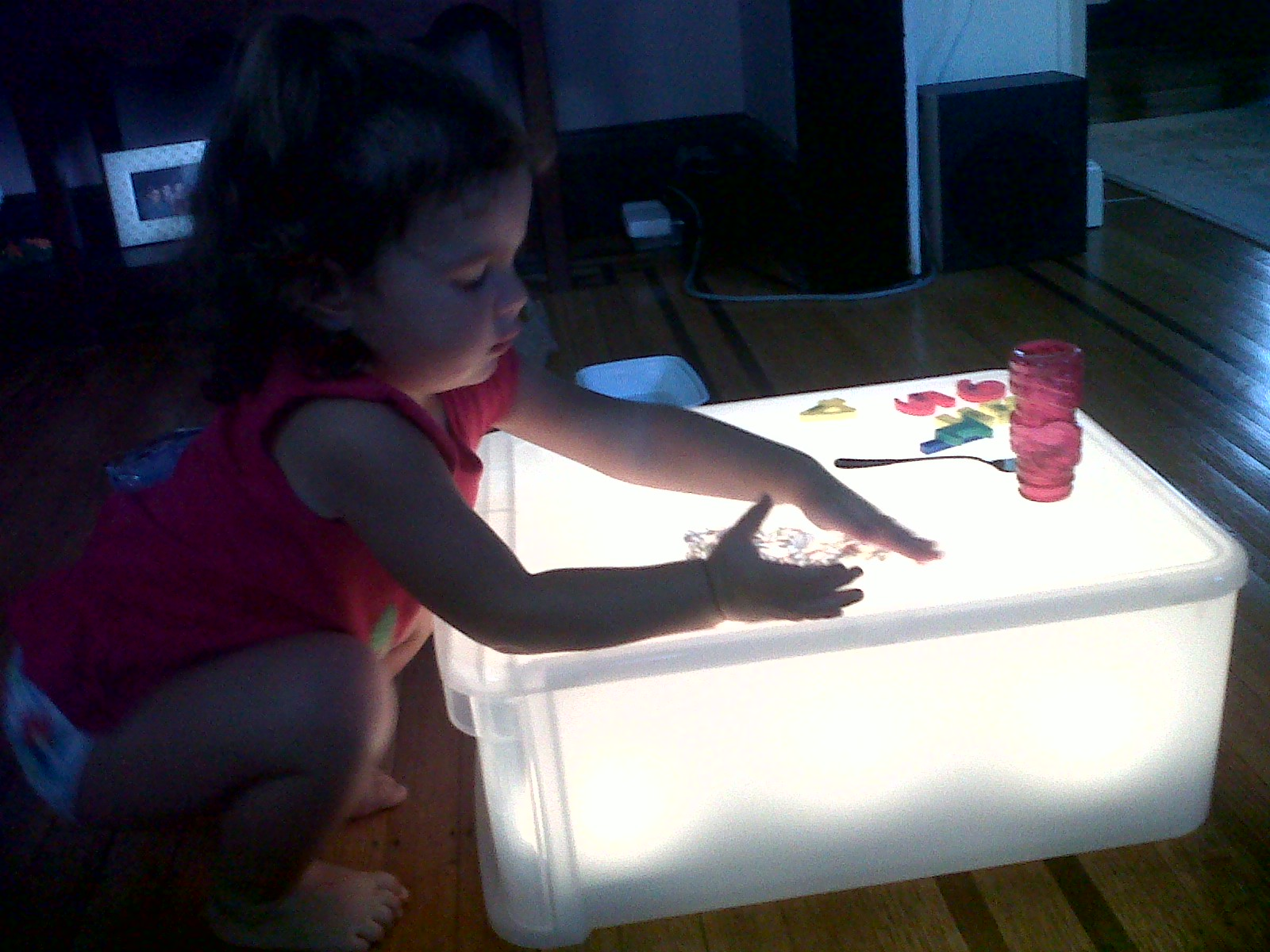 How To Make A Nightlight Make Your Own Light Table And Add Some Reggio Emilia To