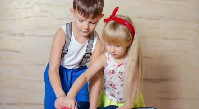 Enfants taches menageres reussite