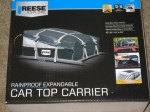 reese car top carrier