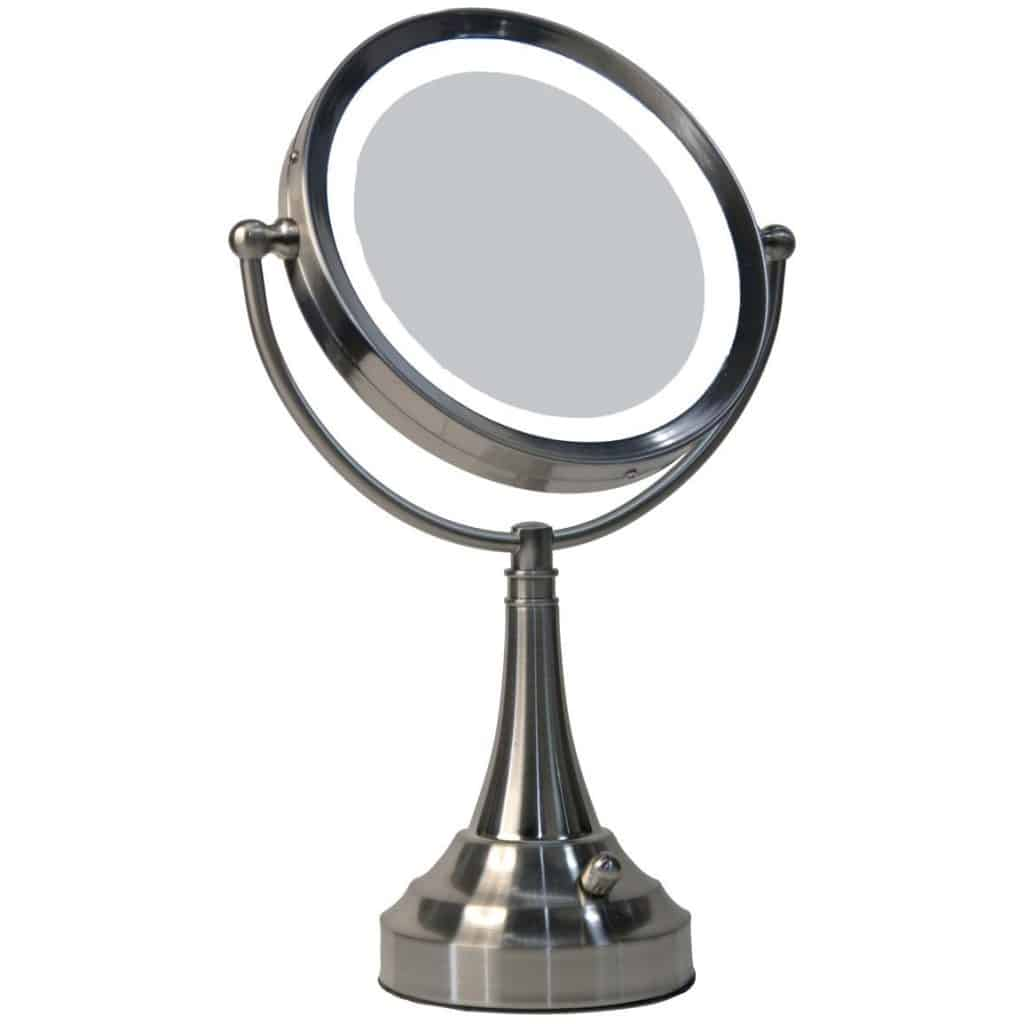 Makeup Vanities With Lighted Mirrors Parentsneed Top 5 Best Lighted Makeup Mirror 2016 Reviews