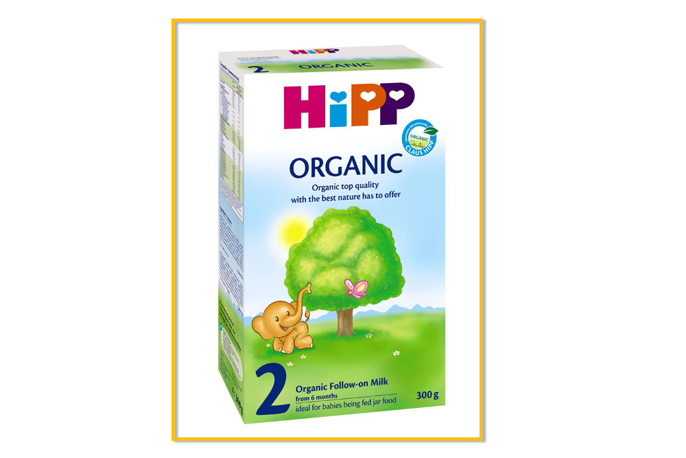 organic products hipp milk