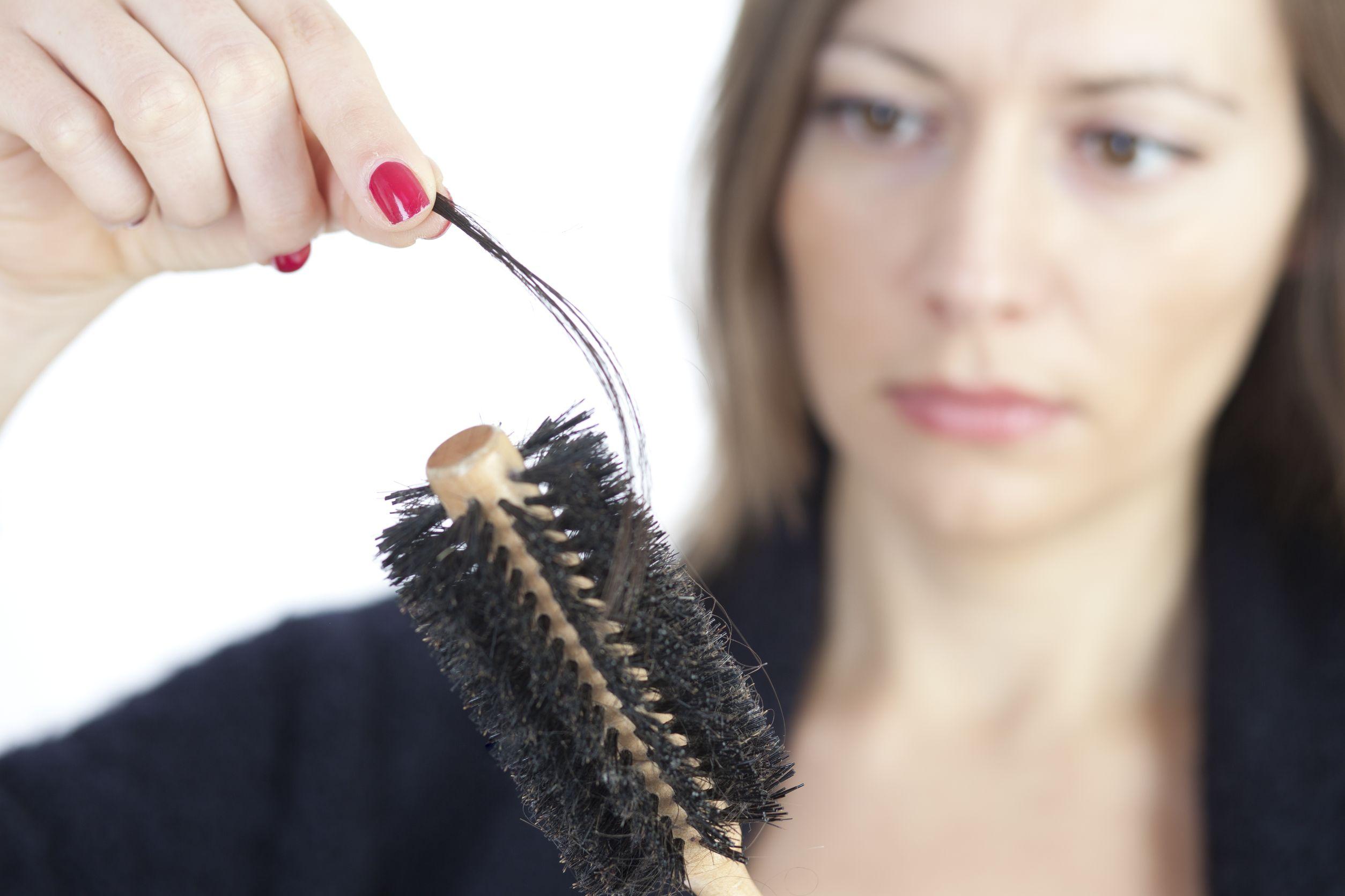 Female hair loss - Comb