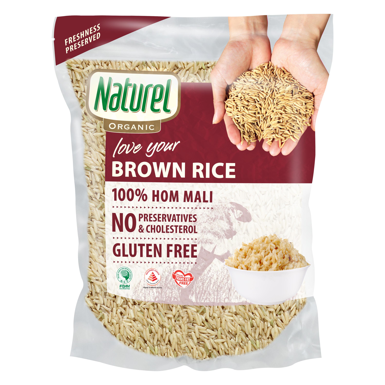 Organic Brown Rice 2kg