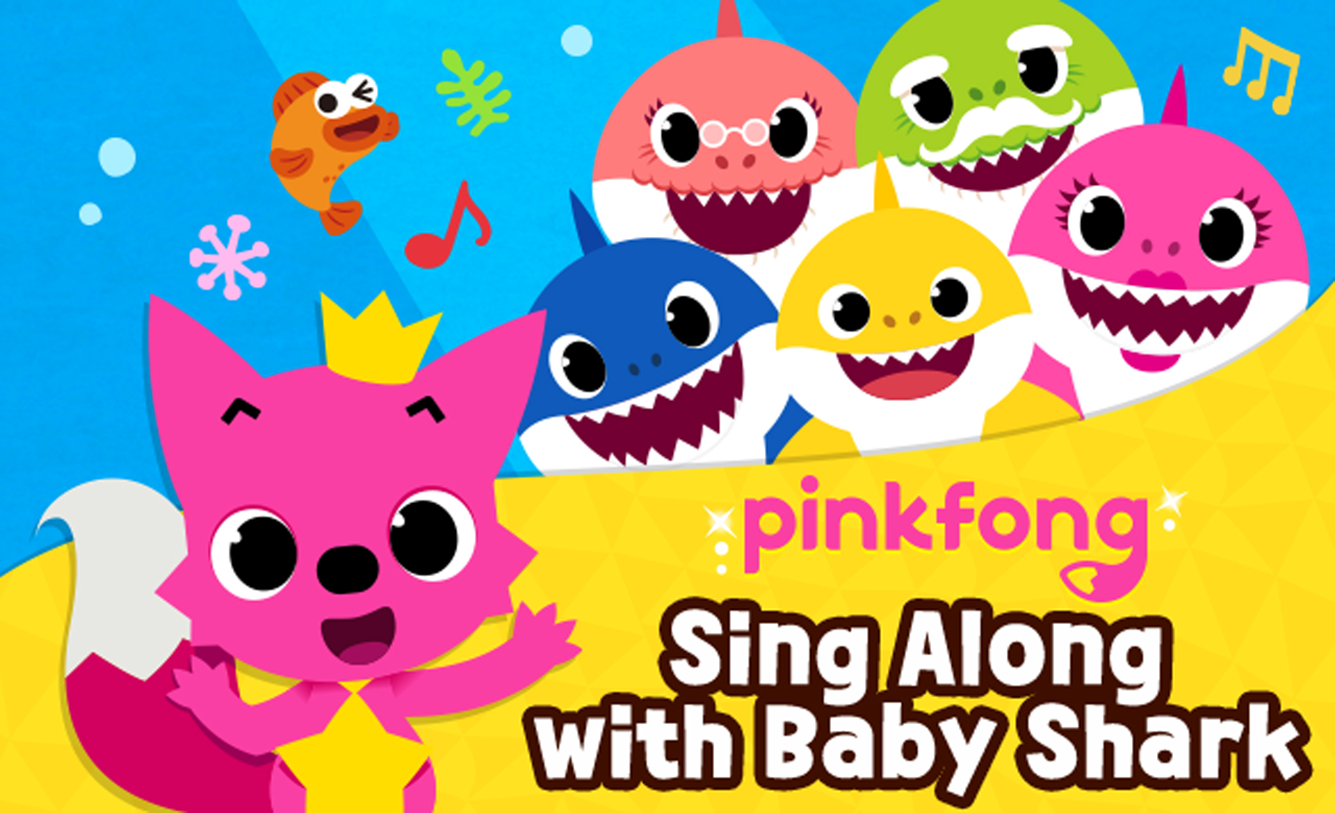 2. Pinkfong Sing Along with Baby Shark