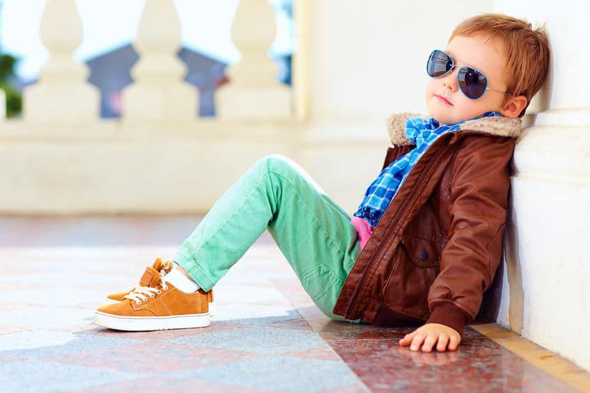 enfant mode modèle