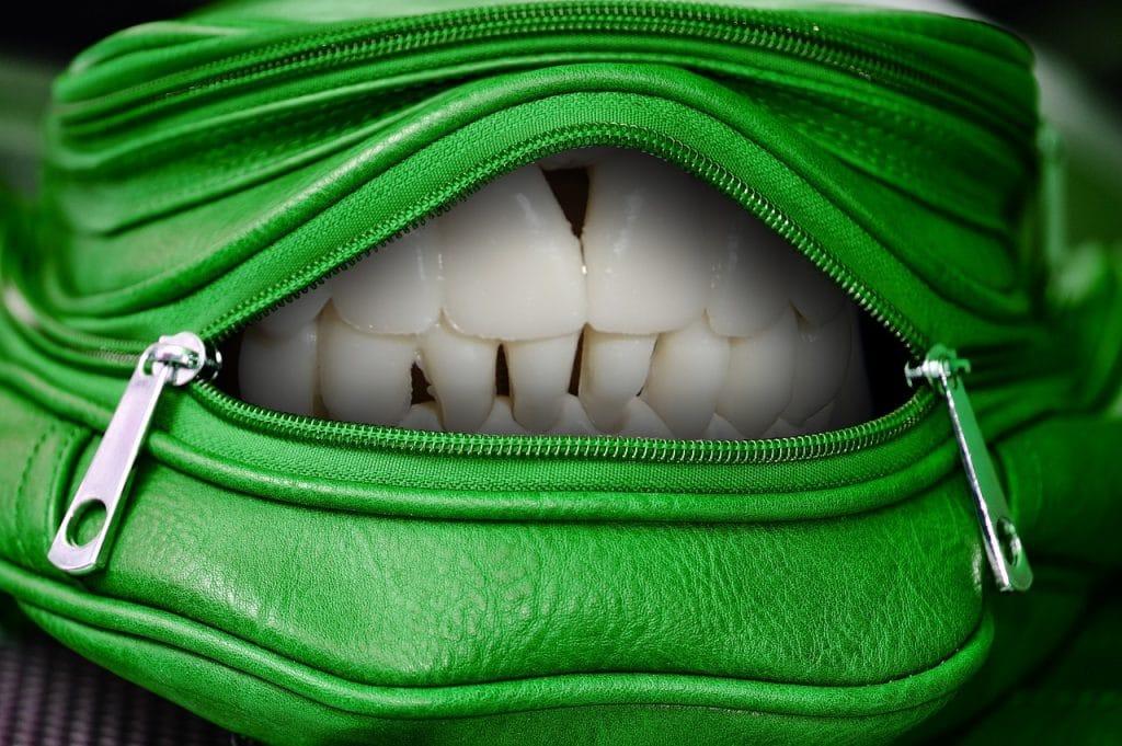 sacoche dents