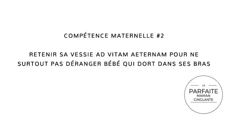 COMPETENCE MATERNELLE 2 RETENIR SA VESSIE