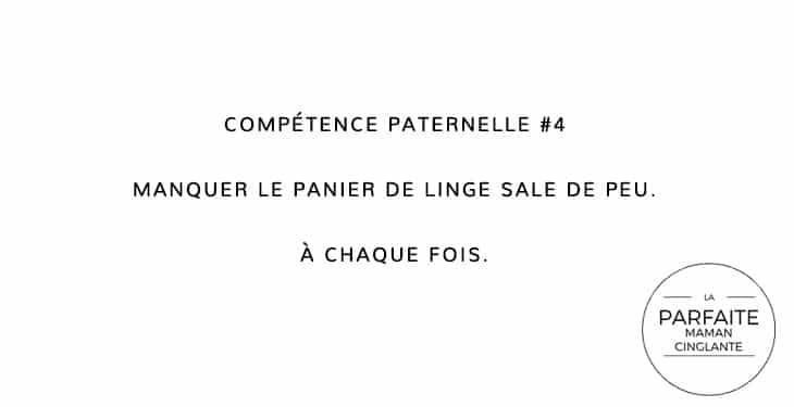 COMPETENCE PATERNELLE 4 PANIER LINGE SALE