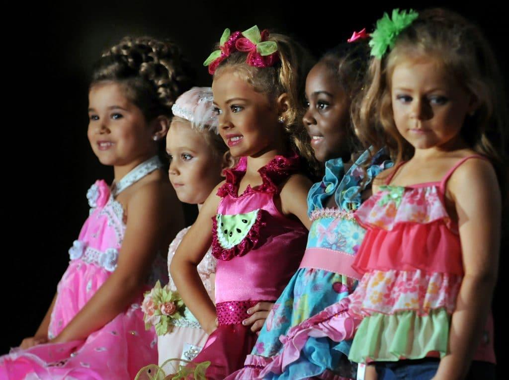 enfant concours beauté