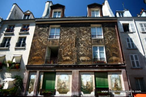 Mouffetard façade