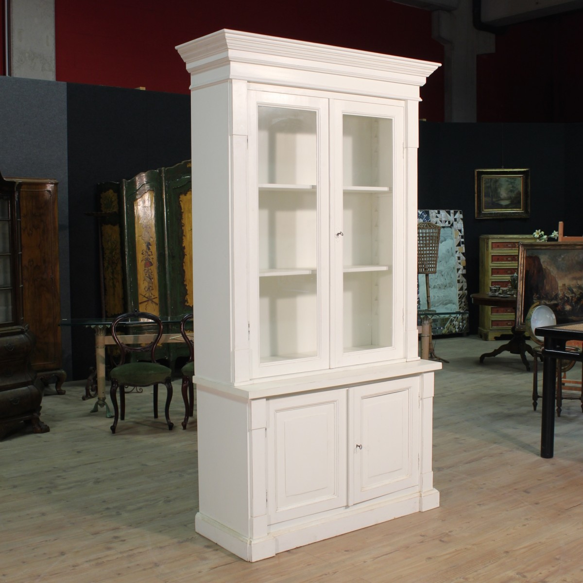 Vitrine Modern Details About Showcase Display Cabinet Vitrine Painted White Modern Antique Style 900 Cabinet