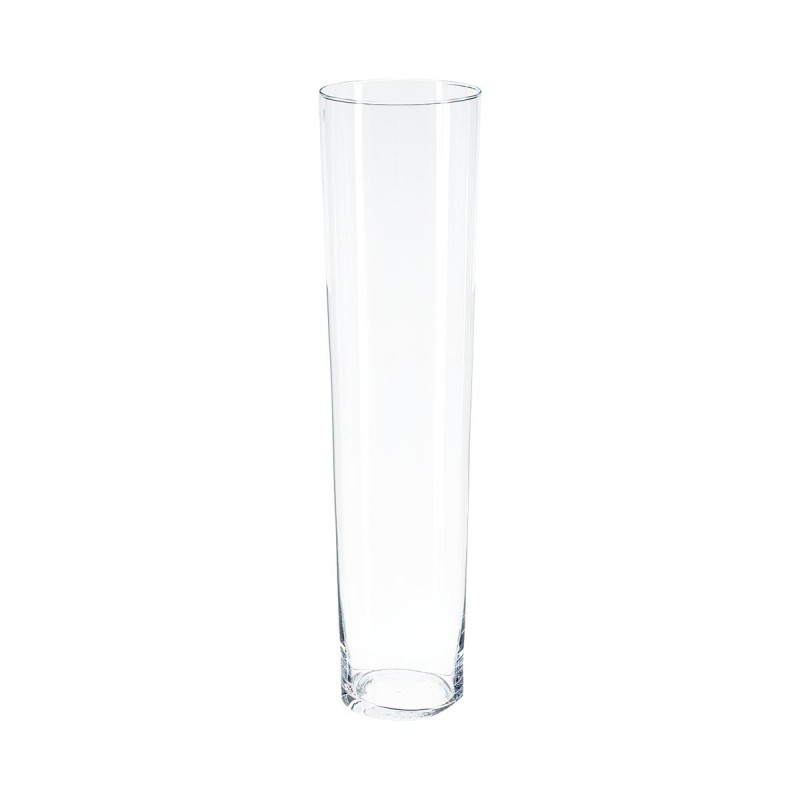 Pied Conique Bois Vase Conique 70cm Transparent