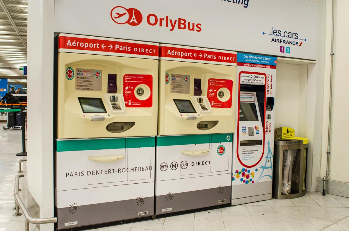 Bus Roissy Orly Airport Bus Paris By Train