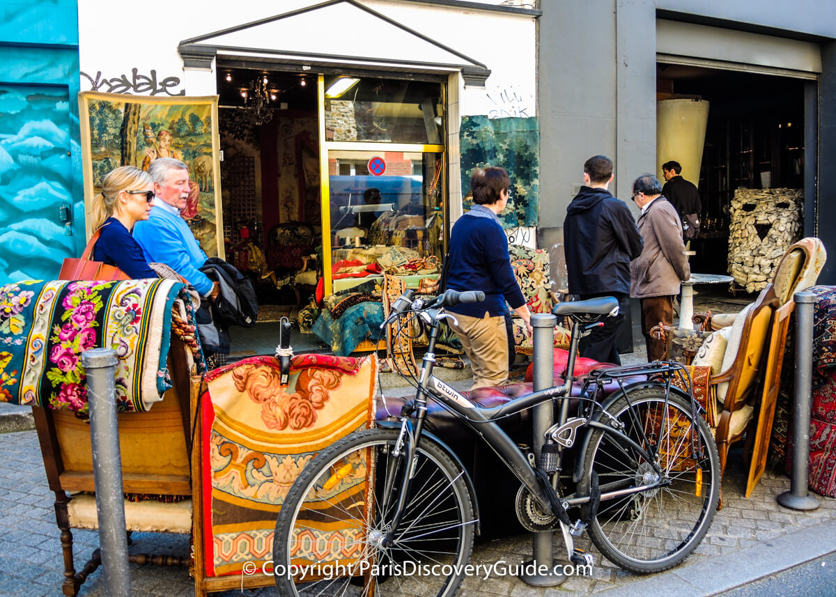 Saint Ouen Puces Paris Flea Markets Les Puces At St Ouen Shopping Tips Paris