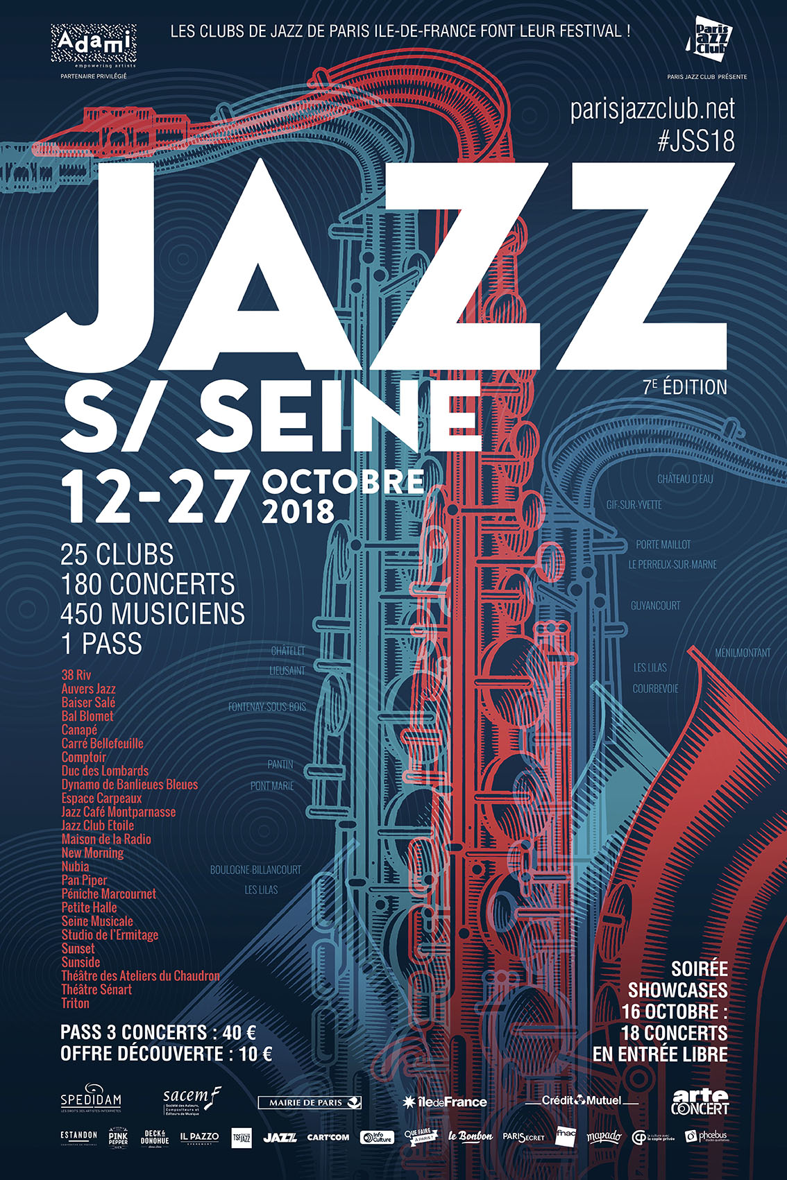 Arte Concert Opera De Paris Jazz On Seine 2018 Paris Jazz Club