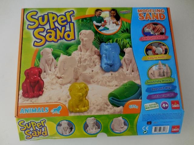 super sand le sable magique pour jouer en int rieur. Black Bedroom Furniture Sets. Home Design Ideas