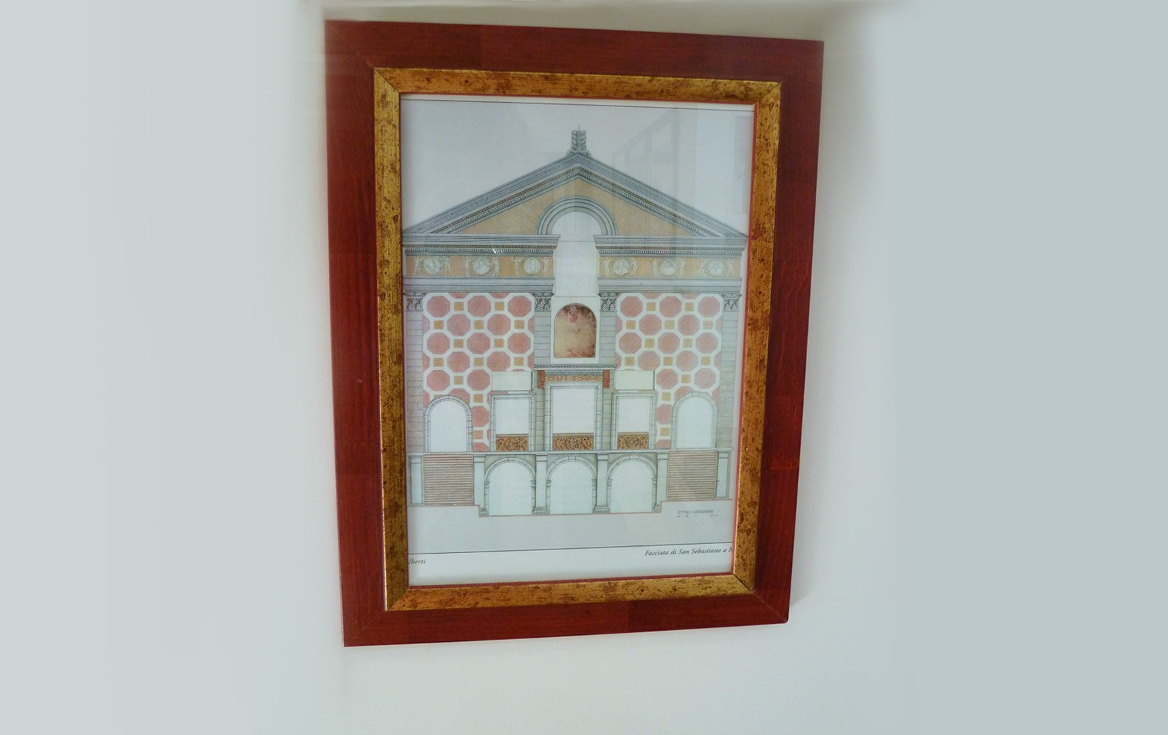 Architectural Prints Framed La Dolce Vita An Apartment In Rome Italy Paris Perfect