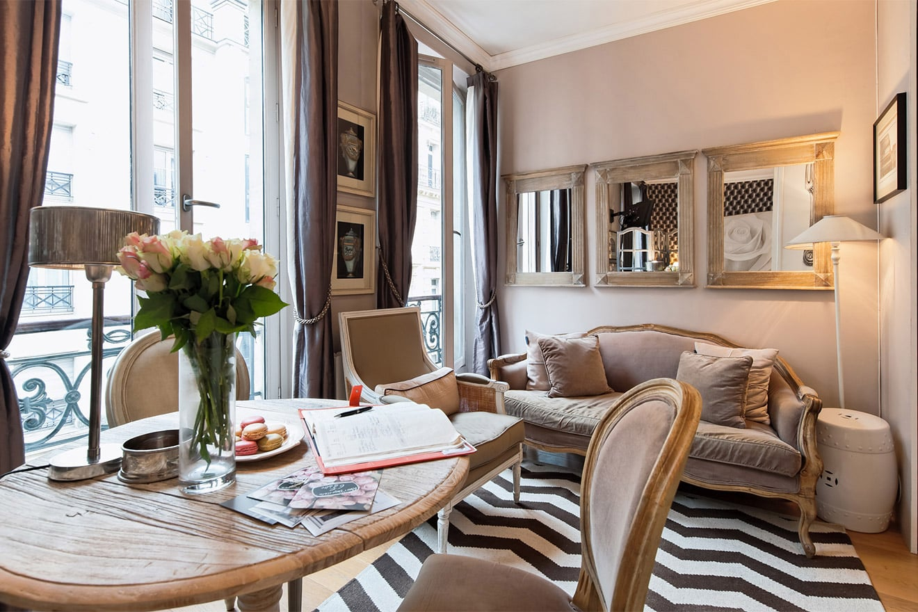 Studio Appartement Stylish Renovated Studio Apartment On Rue Bonaparte In The Heart