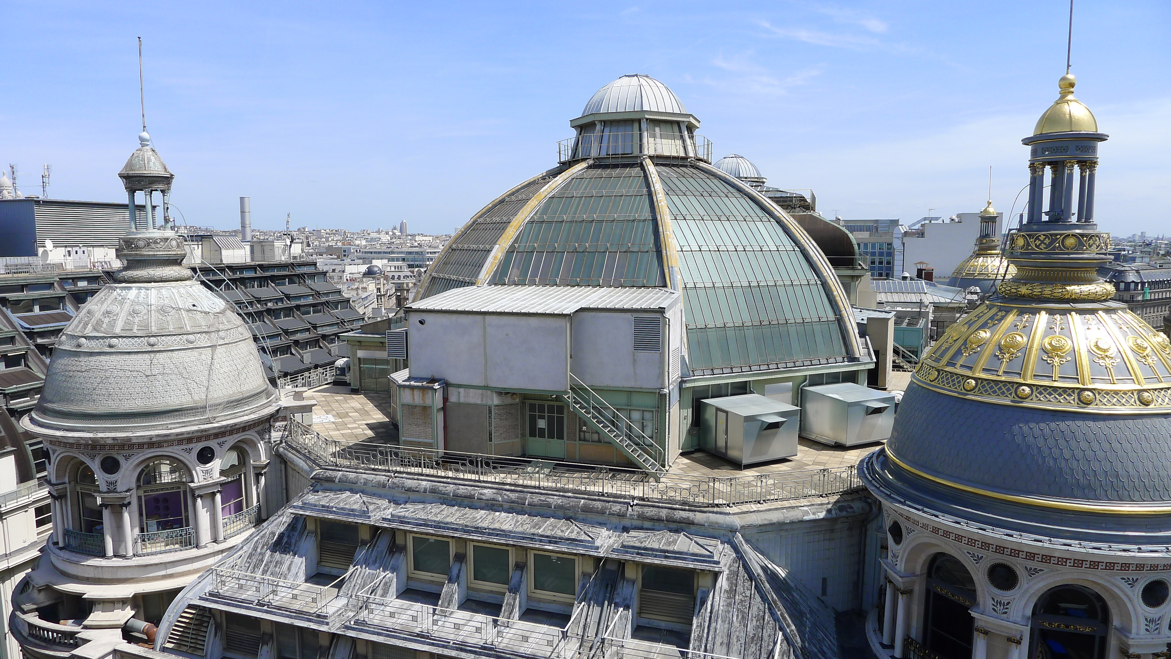 Le Printemps Paris Paris Bargain Lunch With A View On Rooftop Of Au Printemps
