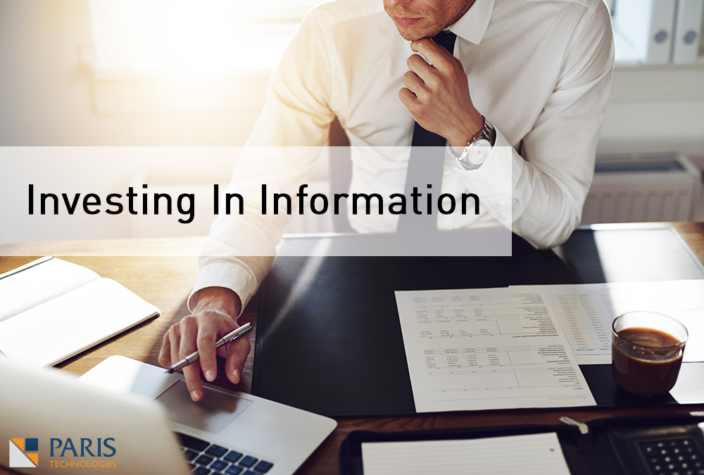 Investing in Information
