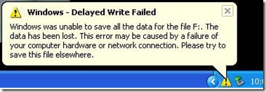 delayed write failed Disk write caching or cache is disabled learn how to turn on or turn off disk write caching helpful if you get windows delayed write failed error.
