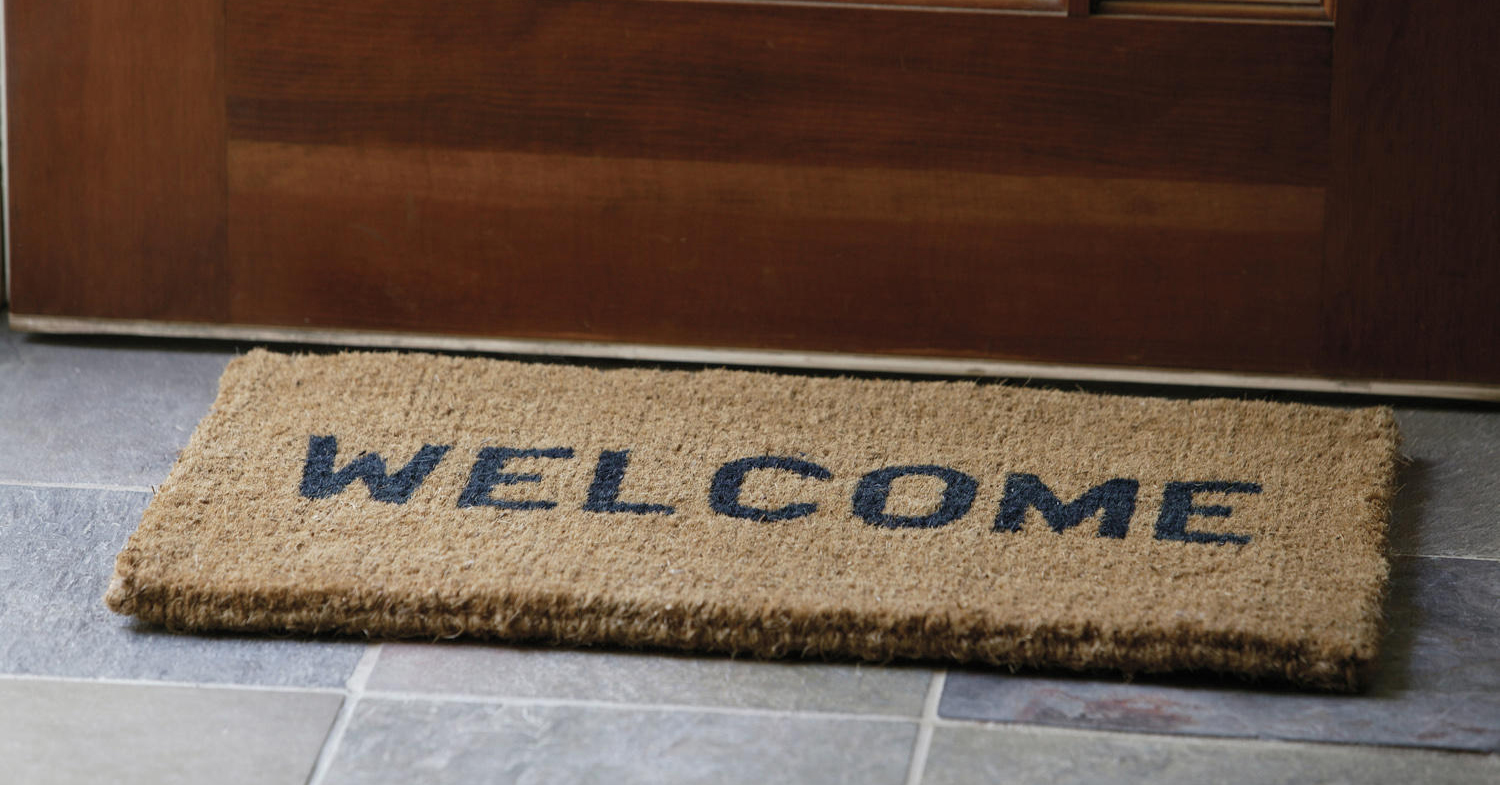 Leave Welcome Mat Welcome Mat Paritas Capital Management