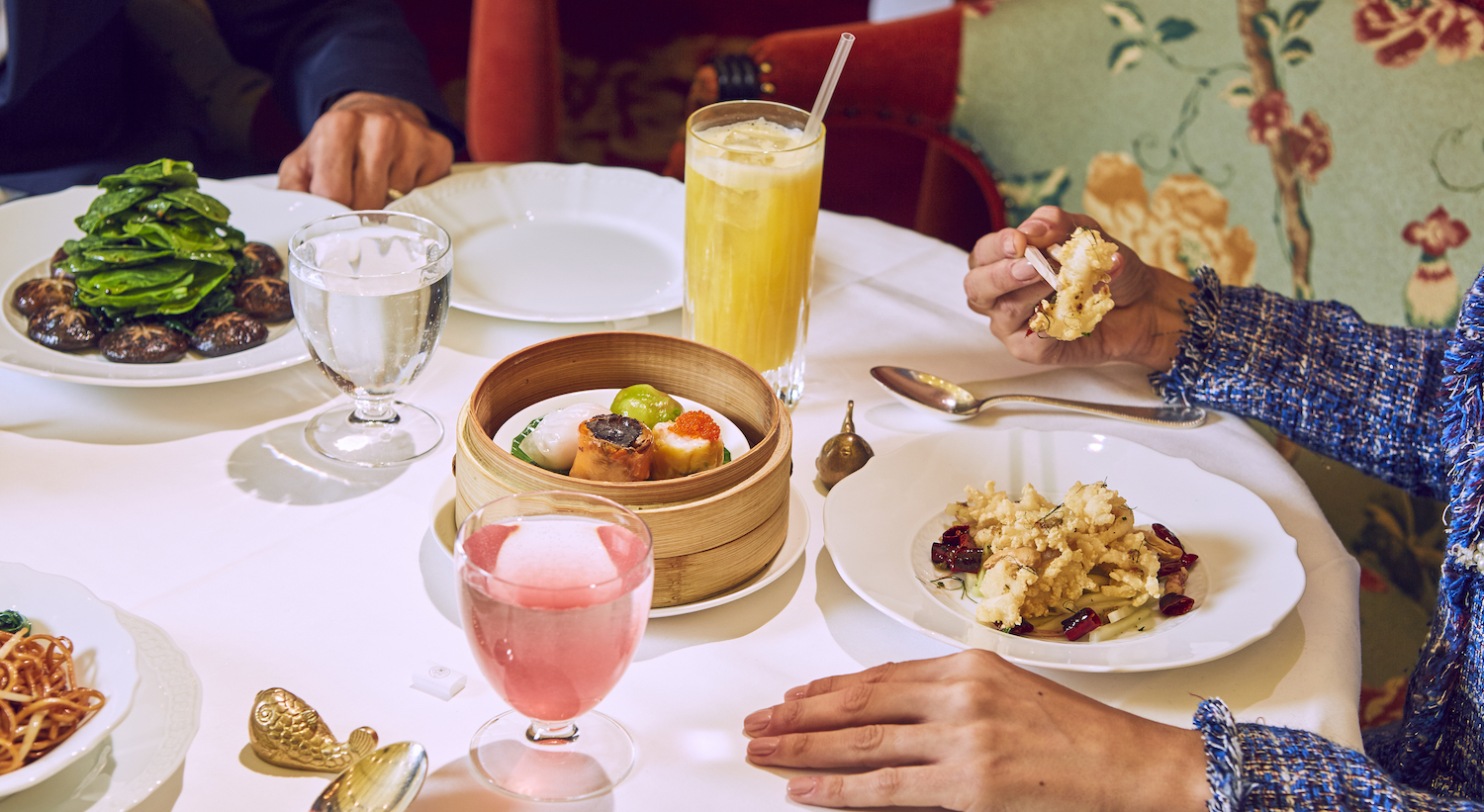 Lit Chinois But Enjoy Lunch In Mayfair Park Chinois