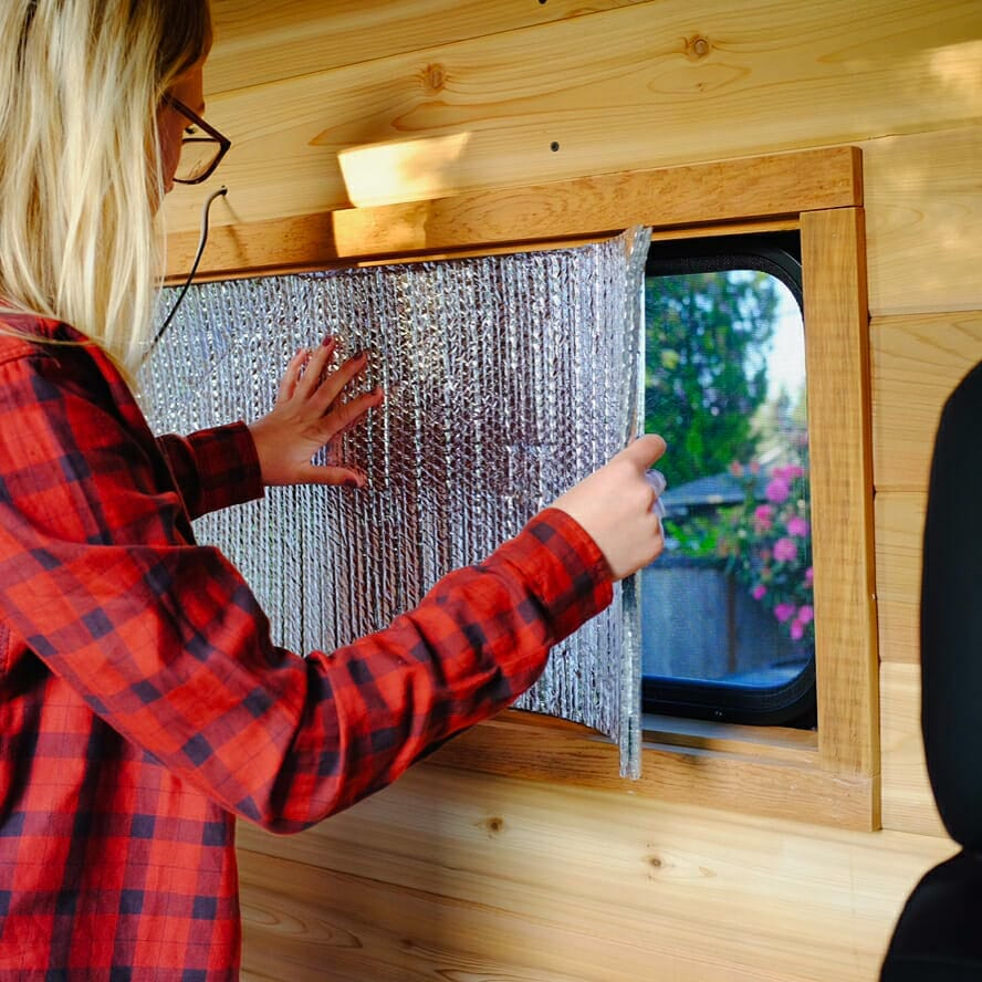 How To Insulate Windows Diy Van Insulation For A Campervan Conversion How To Install