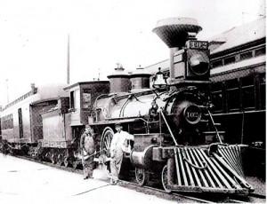 CS Railroad train parker co history