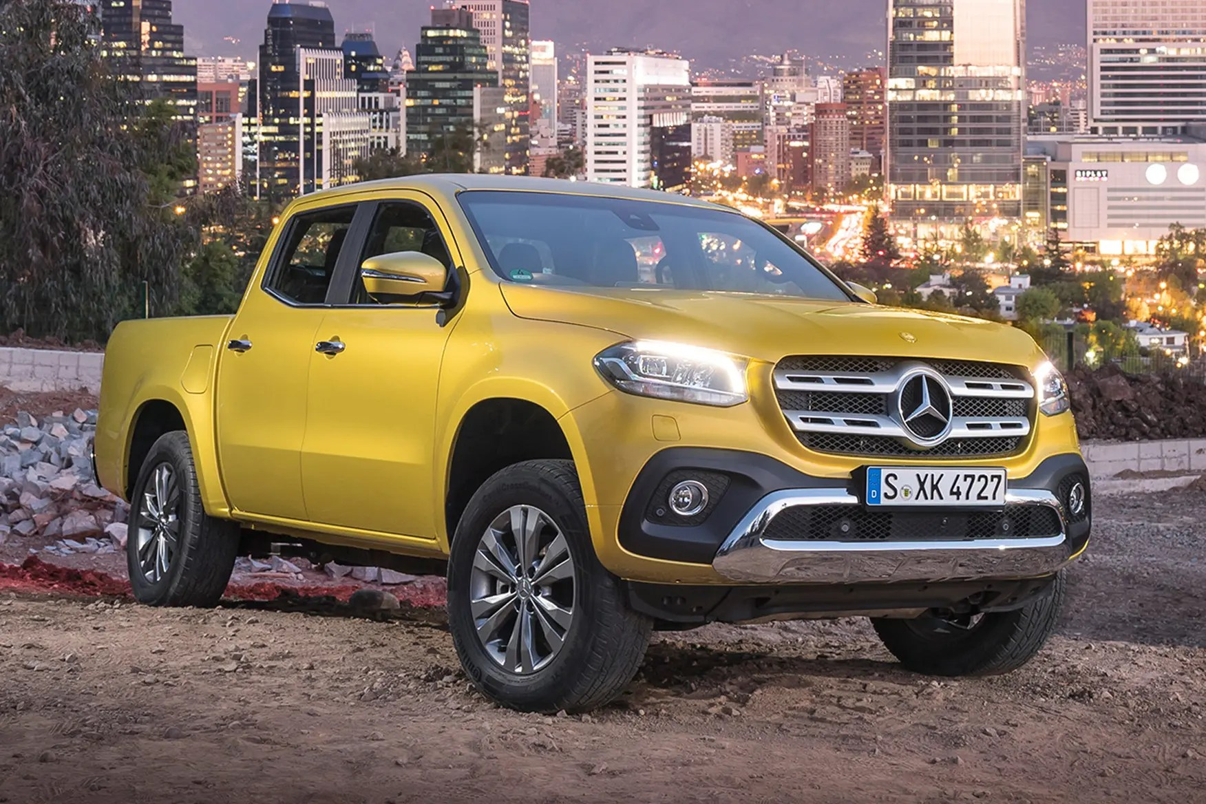 Mb X? S? Mercedes Benz X Class Pickup Review 2017 On Parkers