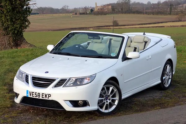 Saab 9 3 Convertible Review 2003 2011 Parkers