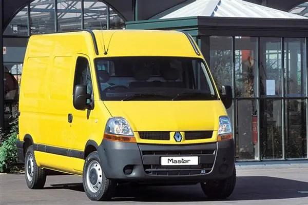 Renault Master van dimensions (2003-2010), capacity, payload, volume